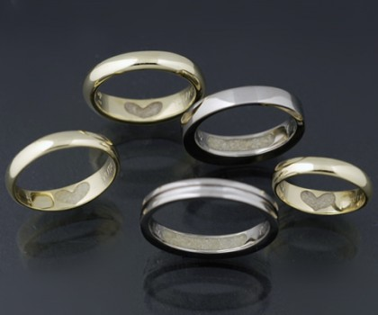 家族それぞれの想いを込めた5つのリング