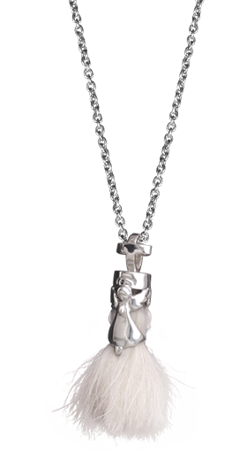 Flaffy Angel Pendant-
