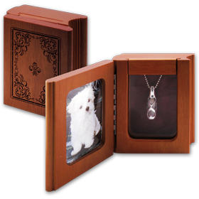 book style altar box for memory-1